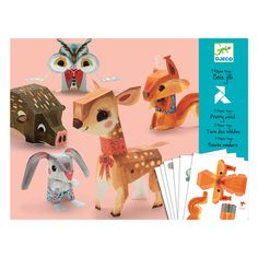 Origami - Woodland Animals