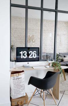 5 idées pour un bureau malin | Pastel colors, Interiors and Spaces
