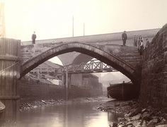 Glasshouse Bridges Byker 1908 by Newcastle Libraries