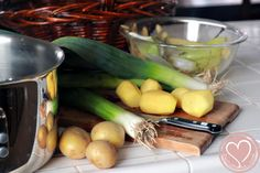 Potato Leek Soup Recipe: A Marvelous Meatless Meal via @DeSuMama