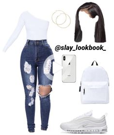 Cute back to school outfit idea New Ideas Dope Outfits Cute idea Ideas outfit school Baddie Outfits Casual, Boujee Outfits, Teen Fashion Outfits, Dope Outfits, Girly Outfits, Look Fashion, Stylish Outfits, Vintage Outfits, Jeans Fashion