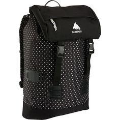 Burton Tinder Backpack, Black Polka Dot *** More infor at the link of image  : Backpacking backpack