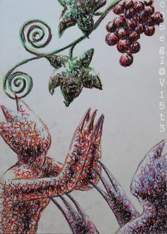 …dirty sketches for photographs and paintings project… PRAYER FOR GRAPES/LA PREGHIERA PER L?UVA - 1996 (mixed tecnique on cardboard) twitter.com/... - instagram.com/... #contemporaryart #artecontemporanea #conceptualart #visualart #arte #artecontemporaneo #artcontemporain #canvas #painting #zeitgenössischekunst #kunst #artcollectors #art #artgallery #cosegiaviste #artexhibition