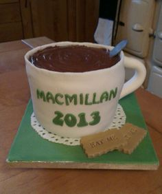 Macmillan Coffee morning 2013.. my contribution to the local cake bake :-D