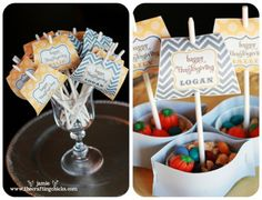 Thanksgiving place cards-mini Mayflower nut cup ships.  Free Download