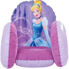Buy Disney Princess Cinderella Flocked Chair at Argos.co.uk - Your Online Shop for Toys under 10 pounds, Disney Princess home, 2 for 15 pounds on Toys, Novelty gifts and inflatable chairs.