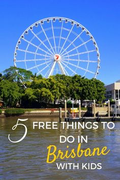 5 Free Things to do in Brisbane, Australia with Kids - The World Is A Book