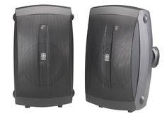 Yamaha Indoor/outdoor Speakers Pair Black - Wired for sale online Best Outdoor Bluetooth Speakers, Top Speakers, Home Audio Speakers, In Wall Speakers, Speakers For Sale, Bookshelf Speakers, Outdoor Sound System, Outdoor Speaker System, Yamaha Audio