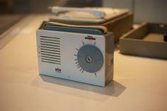 kofferradio exporter 2  design: hfg ulm, vermutlich hans g. conrad und otl aicher, 1956