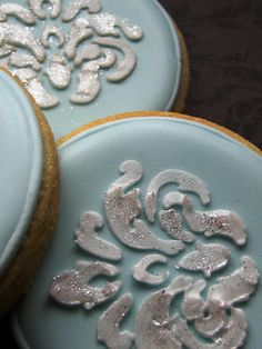Pastel Blue Wedding Cookie Favour #Shabby Chic Wedding ... Wedding ideas for brides & bridesmaids, grooms & groomsmen, parents & planners ... https://itunes.apple.com/us/app/the-gold-wedding-planner/id498112599?ls=1=8 … plus how to organise an entire wedding, without overspending ♥ The Gold Wedding Planner iPhone App ♥