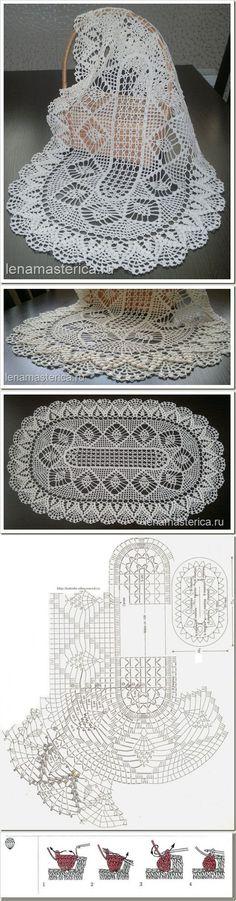 Hi 18 Crochet doily patterns Pins you. Crochet Doily Diagram, Crochet Doily Patterns, Crochet Art, Crochet Squares, Crochet Home, Thread Crochet, Filet Crochet, Irish Crochet, Crochet Motif