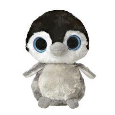 "Aurora World ""YooHoo and Friends"" Fuzee the Baby Penguin mini-plush Ty Animals, Emperor Penguin, Baby Penguins, Beanie Boos, Shopkins, Big Eyes, Bald Eagle, Animal Pictures, Aurora"