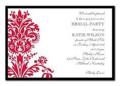 'Red Baroque' by Invitation Consultants
