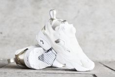 Reebok Insta Pump Fury PM Chalk Gold. Available now. http://ift.tt/1MDkFn7