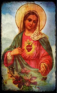 Holy Mary's Immaculate Heart.  September 8th, Happy Birthday Blessed Mother <3