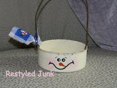 tuna can craft ideas | Recycle Eco Friendly Christmas Crafts DIY Green Holiday Ideas Tips ...