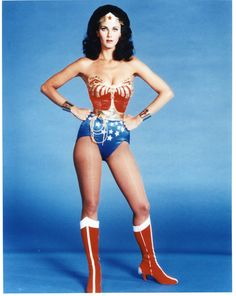 I'm pretty sure this is who I am going to be for Halloween!! Wonder Woman!!!