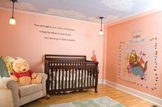 Winnie the Pooh baby room for boy/girl