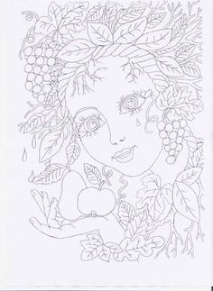 Doodle Coloring, Free Coloring, Coloring Book Pages, Coloring Pages For Kids, Spring Projects, Autumn Painting, Sharpie Art, Quilling Patterns, Autumn Crafts