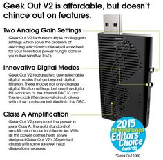 Geek Out V2 Portable Headphone Amplifier | Indiegogo