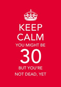 30th Birthday Quotes Messages