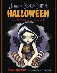Best Halloween and Fall Coloring Books for Adults Jasmine Becket-Griffith Halloween Coloring Book