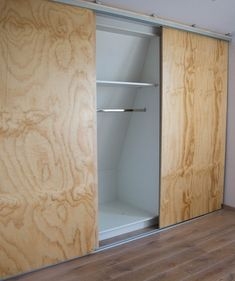 Four Important Design Considerations When Planning a Home Bar - Man Cave Home Bar Modern Closet Doors, Sliding Wardrobe Doors, Sliding Doors, Bedroom Built In Wardrobe, Closet Bedroom, Home Bedroom, Porch Storage, Wooden Closet, Closet Curtains
