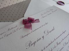 Ideas para tus invitaciones de boda #Entrebastidores http://blog.higarnovias.com/2015/01/16/invitaciones-de-boda/