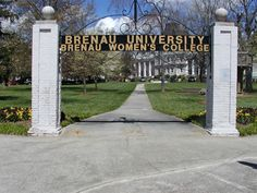 Where I graduated with my Bachelors in Nursing. Brenau University in Gainesville, Georgia is a private women's college.
