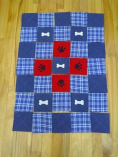 Rag Quilt For My Dog   Craftsy
