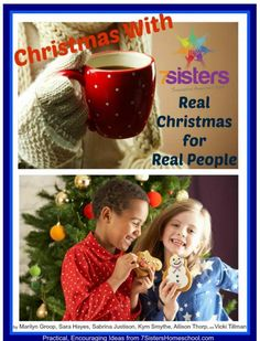 "$2.49 and full of Christmas ideas for when the holidays get a little too ""real"". 7 Sisters Homeschool"