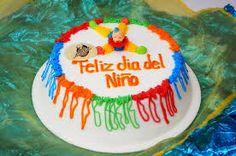Resultado de imagen para decoracion pastel dia del niño