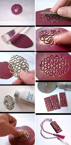 Make Your Cool Unique Clay Necklace | DIY  Crafts