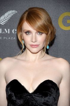 Bryce Dallas Howard Photos Photos: TWC-Dimension Hosts the World Premiere of 'Gold' - Red Carpet Cristina Hendrix, Brice Dallas Howard, Date Night Makeup, Black Actresses, Beautiful Redhead, Most Beautiful Faces, Jessica Chastain, Beautiful Actresses, Redheads