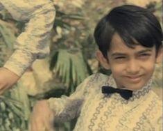 Bollywood: The Wonder Years! Indian Bollywood Actors, Bollywood Photos, Bollywood Songs, Indian Celebrities, Bollywood Celebrities, Childhood Images, Bollywood Wedding, Vintage Bollywood, Aamir Khan