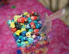 Rainbow popcorn Rainbow Dash Party My Little Pony