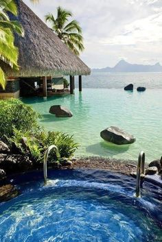 Bora Bora, perfect Honeymoon destination.  http://gettingmarriedtravel.com/