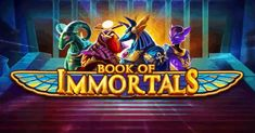 iSoftBet opens the Book of Immortals - Return to Player Special Symbols, Egyptian Mythology, Anubis, Book Themes, Casino Games, Gods And Goddesses, The Book, Slot, Presents