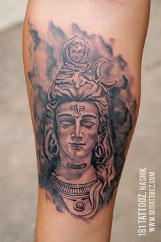 Tattoos and Piercing Studio-Nashik Hindu Tattoos, God Tattoos, Face Tattoos, Forearm Tattoos, Tatoos, Om Namah Shivaya Tattoo, Potrait Tattoo, Mahadev Tattoo, Shiva Tattoo Design