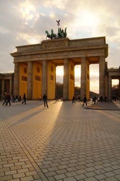 Brandenburg Gate Berlin | Germany.