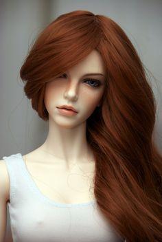 """Larissa"" by Jen Savage Beautiful Barbie Dolls, Pretty Dolls, Cute Dolls, Enchanted Doll, Realistic Dolls, Anime Dolls, Doll Repaint, Ooak Dolls, Ball Jointed Dolls"