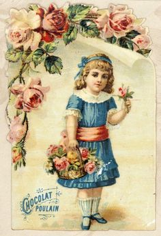 Chocholat Poulain French Trade Card