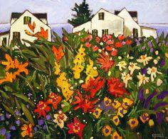 Bord de mer New York Museums, Canadian Painters, Canadian Artists, Garden Painting, Painting Flowers, Museum Of Fine Arts, Art Museum, Illustration Art, Gardens