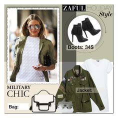 """""""ZAFUL I - 30"""" by anchystar90 ❤ liked on Polyvore featuring Vince, Christian Dior, polyvoreeditorial and zaful"""