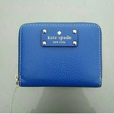 Authentic Kate Spade Mini Wallet Price firm.Missing the zipper but a new one can be slipped on or you can just attach a ribbon. Excellent condition otherwise. 4.5x3.5x0.75. Price firm. kate spade Bags Wallets