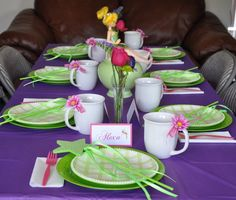 Awesome DIY Tinkerbell party ideas.