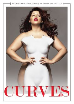 Denise Bidot for the cover of Curves the book