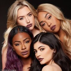 New! On Wednesday she announced she's adding three shades to her lip kit collection: Love Bite, Brown Sugar and Dirty Peach. Jenner also let her friends Jordyn Woods, Justine Skye and Stassie to model the colors