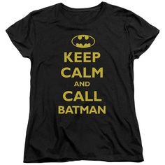Batman/Call Batman Short Sleeve Women's Tee in