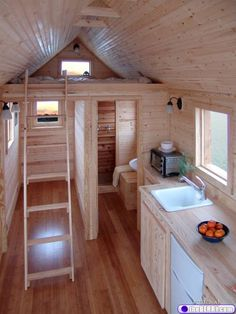 site w/ tiny house plans.... so cute and i'd imagine very cost efficient! i'd be curious enough to try to live in one someday... :)